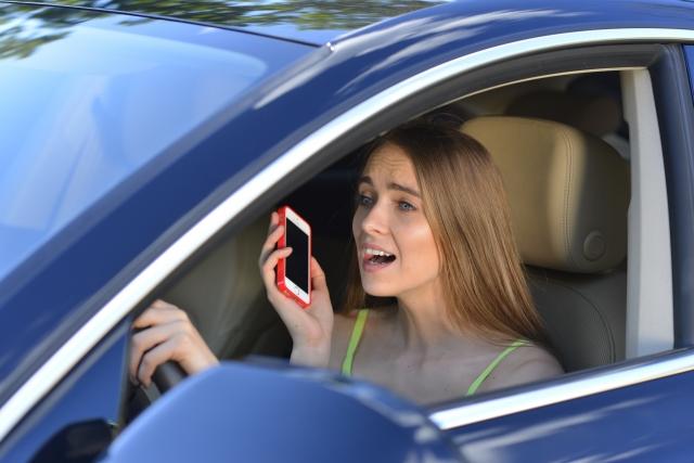 危険運転,警察,電話,煽り運転